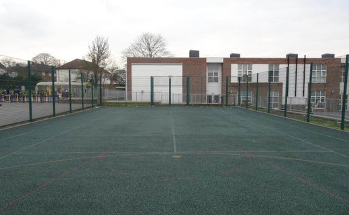 Tarmac Area -Multi Games Area - SLS @ Fryent Primary School - Brent - 2 - SchoolHire