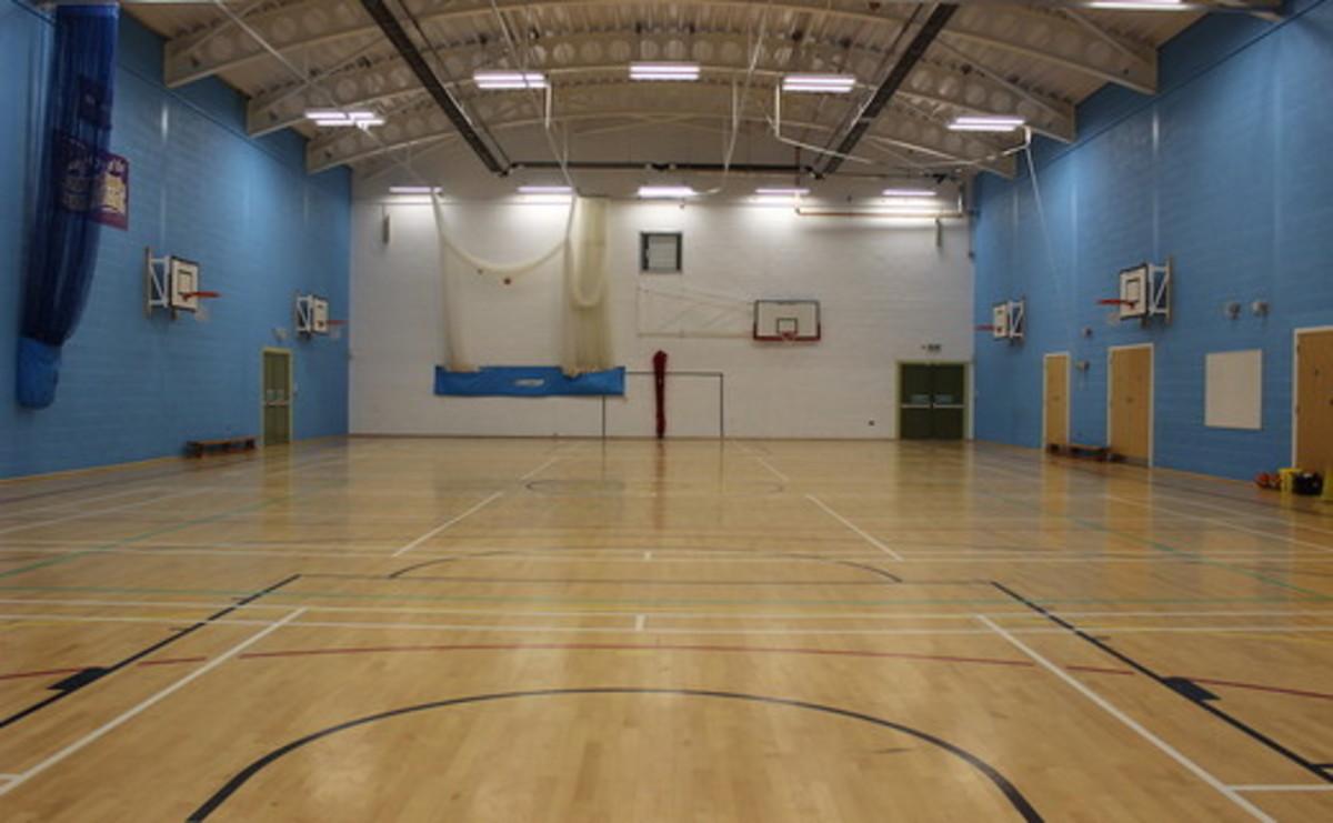 Sports Hall  - SLS @ Garstang Community Academy - Lancashire - 1 - SchoolHire
