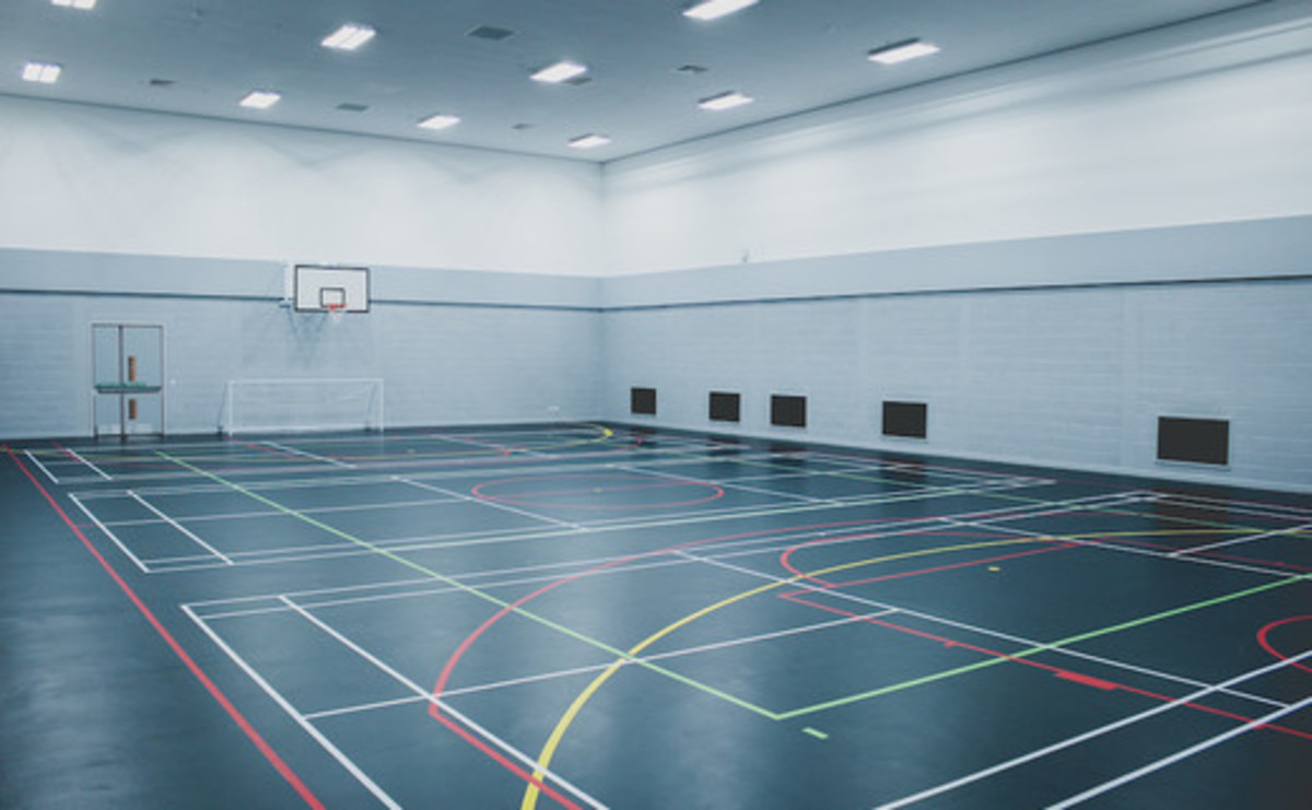 Sports Hall  - SLS @ Global Academy - Hillingdon - 1 - SchoolHire