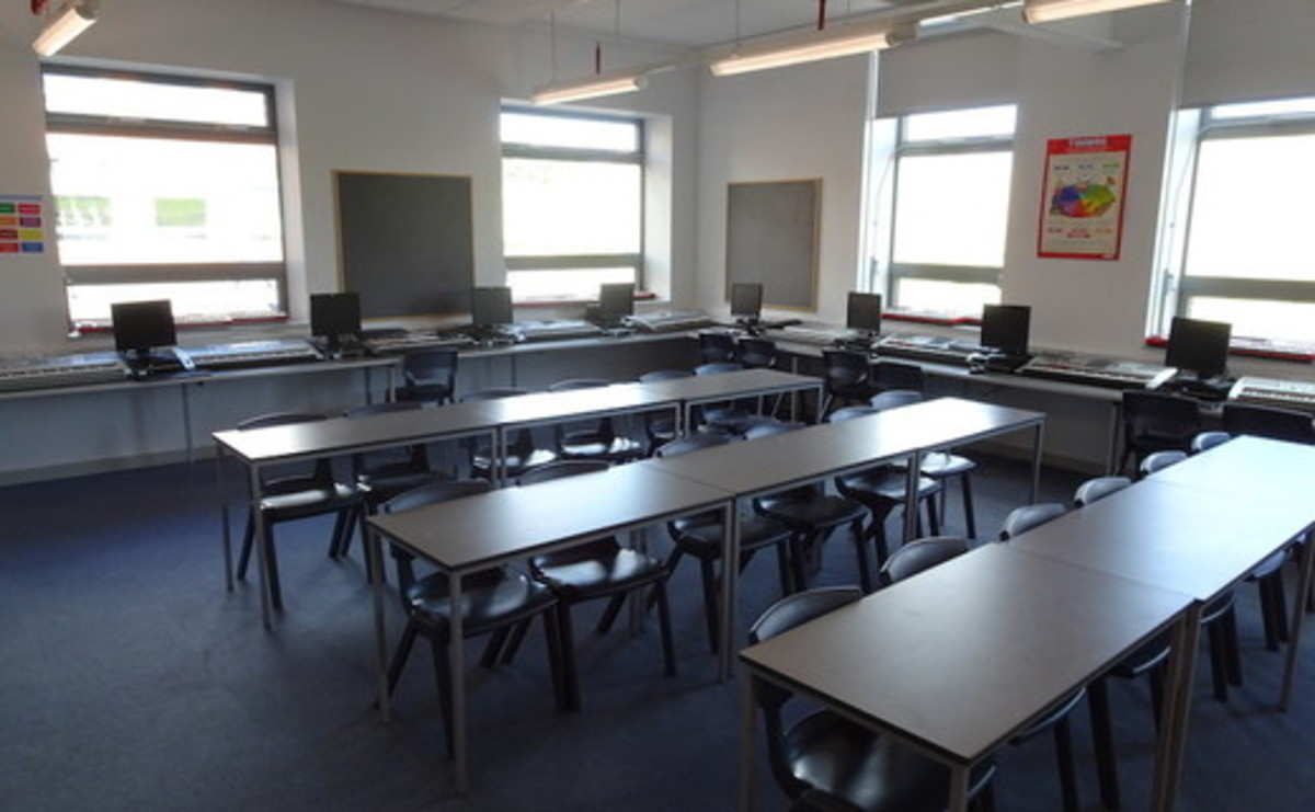 Specialist Classrooms - Music Room with Recording Studio  - SLS @ Hetton School - Durham - 1 - SchoolHire