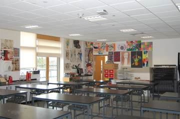 Art Room - Midhurst Rother College - West Sussex - 1 - SchoolHire