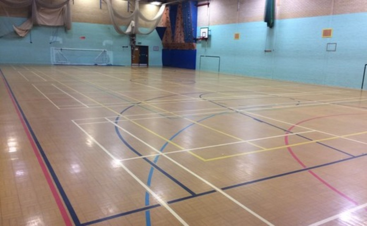 Sports Hall  - SLS @ Lancaster Royal Grammar School - Lancashire - 1 - SchoolHire