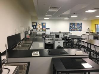Food Tech Room - Midhurst Rother College - West Sussex - 2 - SchoolHire