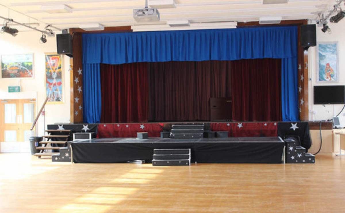 Main Hall  - SLS @ Kettlethorpe High School - West Yorkshire - 1 - SchoolHire