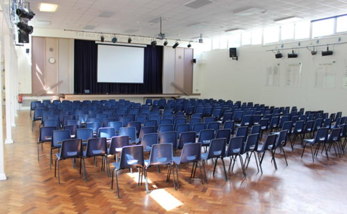 Main Hall  - SLS @ Light Hall School - Solihull - 1 - SchoolHire