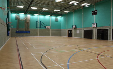 Sports Hall  - SLS @ Magdalen College School - Northamptonshire - 1 - SchoolHire