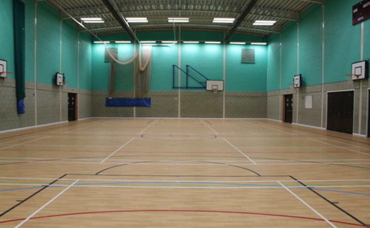 Sports Hall  - SLS @ Magdalen College School - Northamptonshire - 2 - SchoolHire
