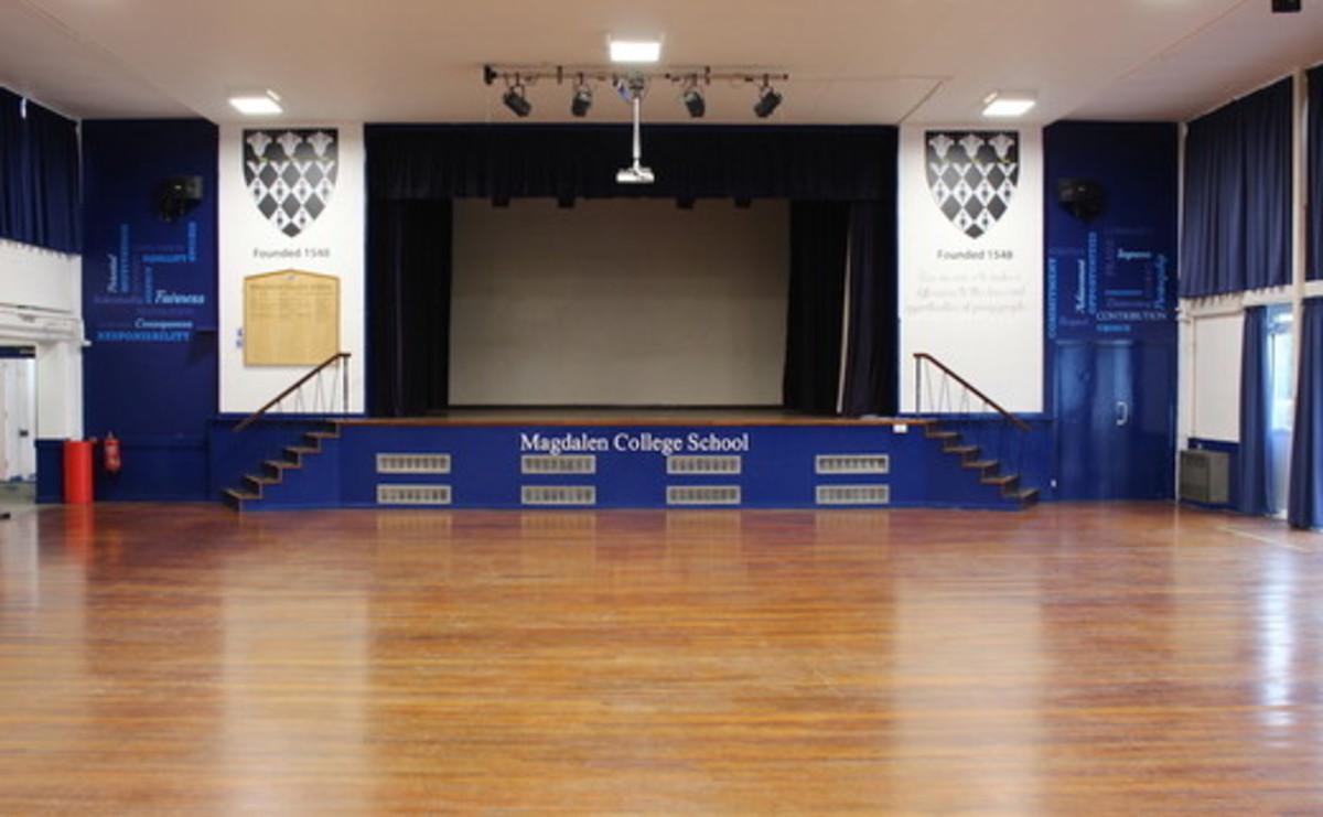 Main Hall  - SLS @ Magdalen College School - Northamptonshire - 1 - SchoolHire