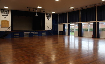 Main Hall  - SLS @ Magdalen College School - Northamptonshire - 2 - SchoolHire