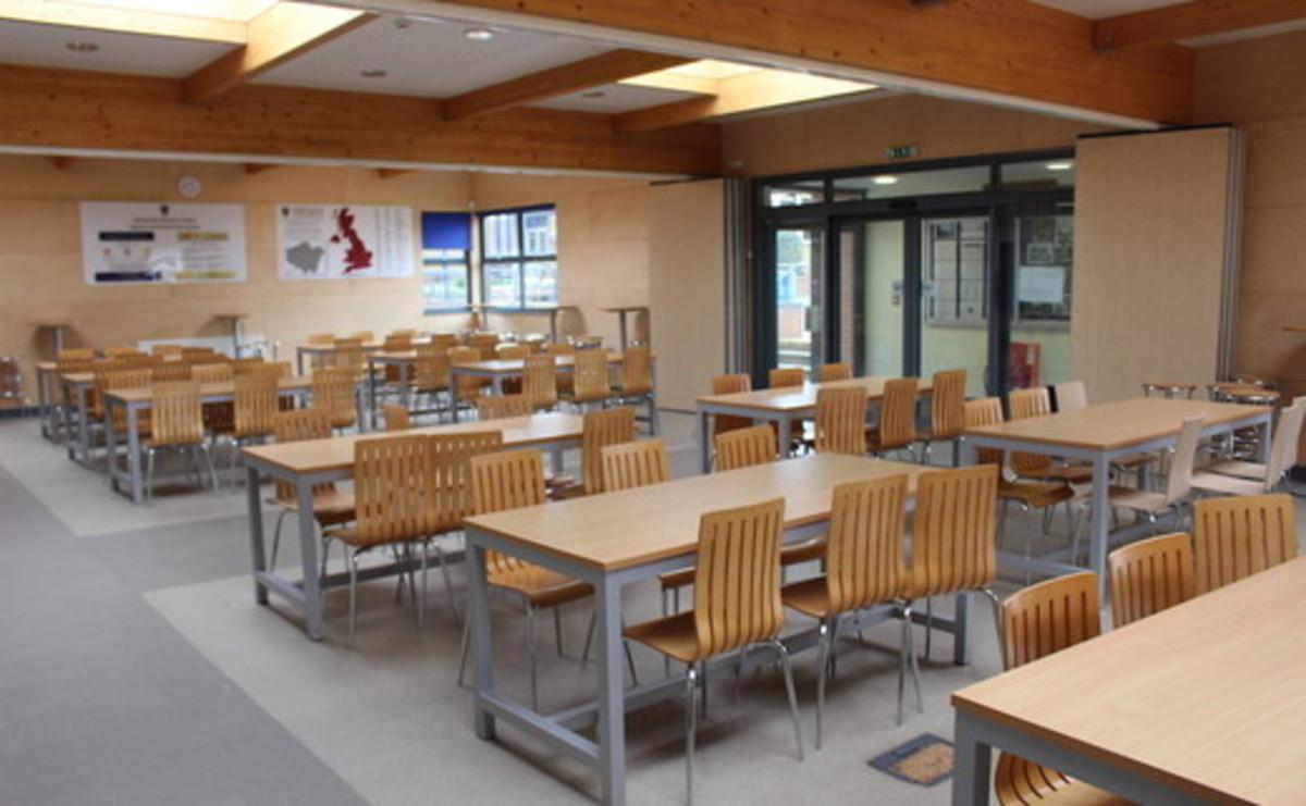 Dining Room - SLS @ Magdalen College School - Northamptonshire - 1 - SchoolHire
