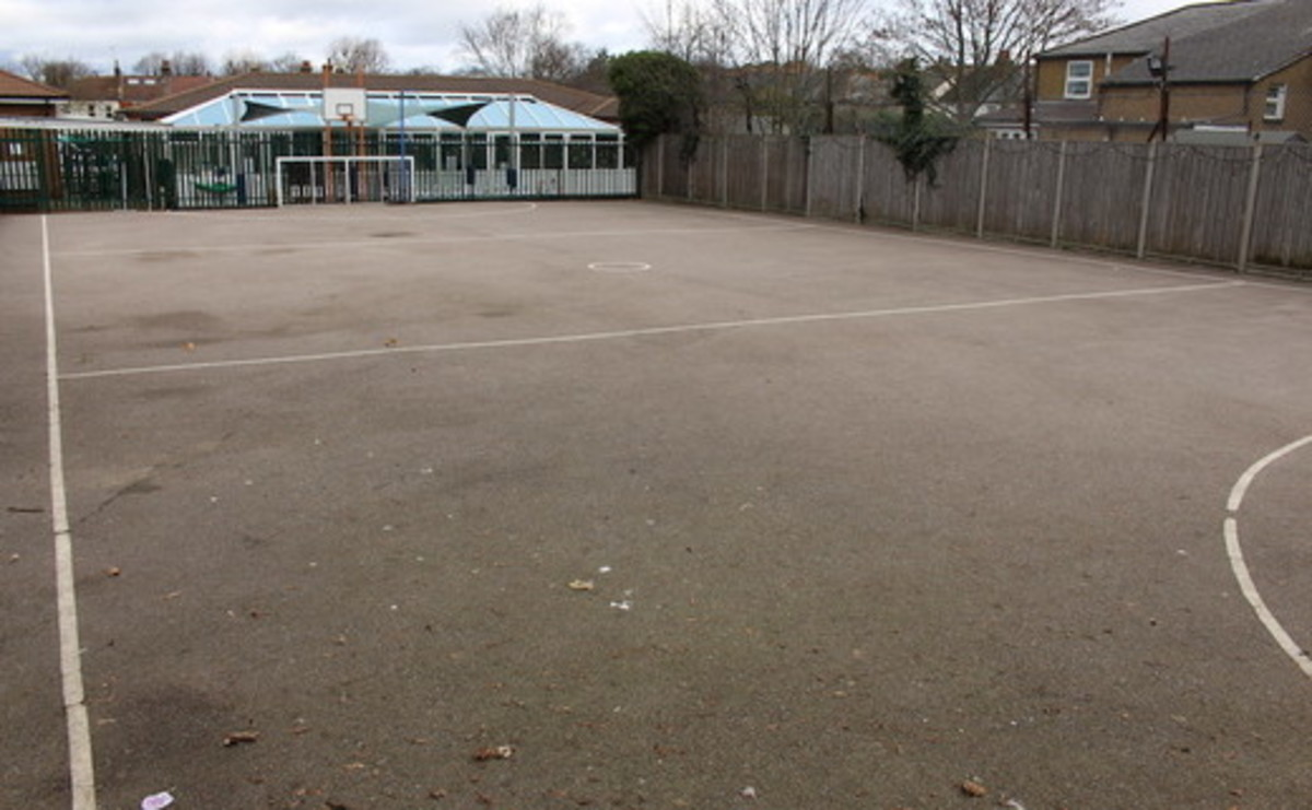 Tarmac Area - SLS @ Manor Park Primary School - Sutton - 1 - SchoolHire
