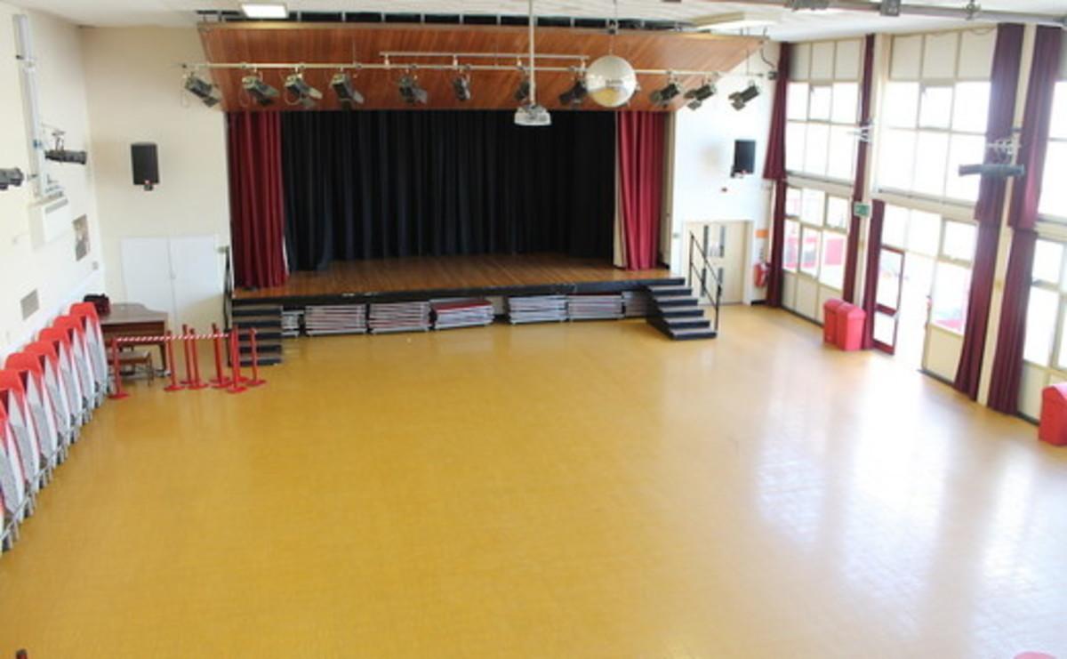 Main Hall  - SLS @ Mayflower High School - Essex - 2 - SchoolHire