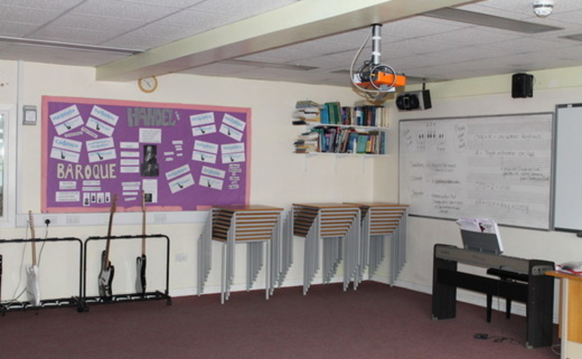 Music Room - SLS @ Mayflower High School - Essex - 1 - SchoolHire