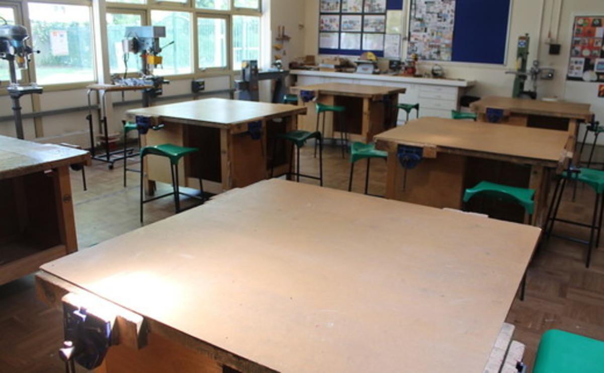 Specialist Classroom - DT Classroom  - SLS @ Mayflower High School - Essex - 1 - SchoolHire