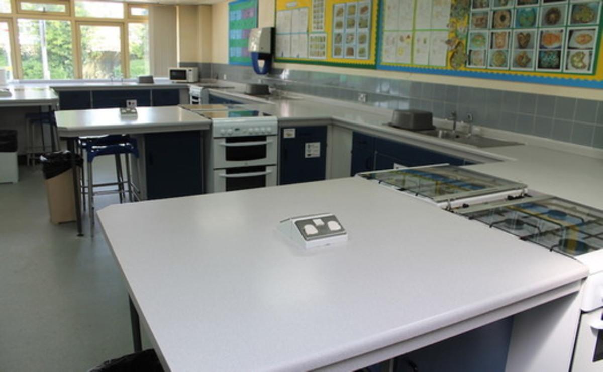Specialist Classroom - Cookery Room - SLS @ Mayflower High School - Essex - 1 - SchoolHire