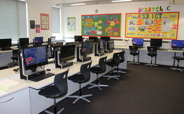 Specialist Classroom - ICT Suite  - SLS @ Oasis Academy MediaCityUK - Manchester - 1 - SchoolHire