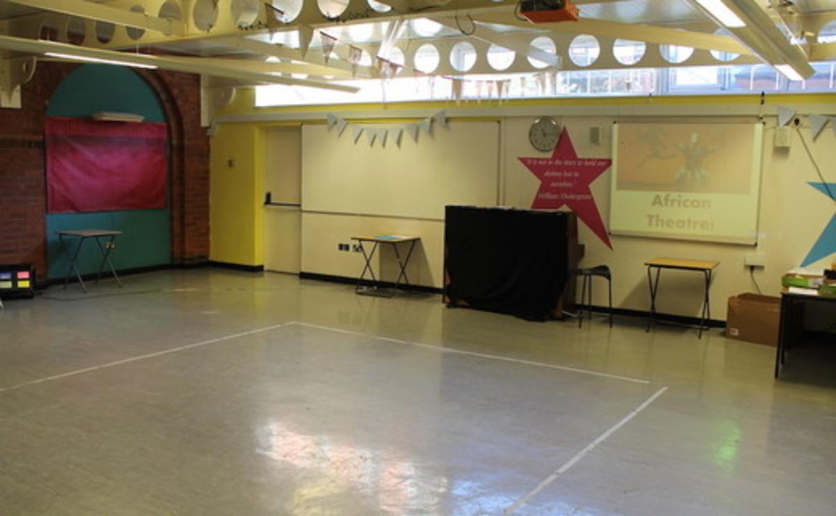Drama Studio - SLS @ Flixton Girls School - Manchester - 1 - SchoolHire