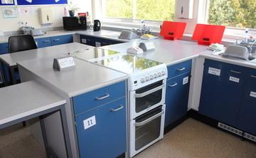 Specialist Classroom - Cookery Room - SLS @ Hull Collegiate School - East Riding of Yorkshire - 1 - SchoolHire