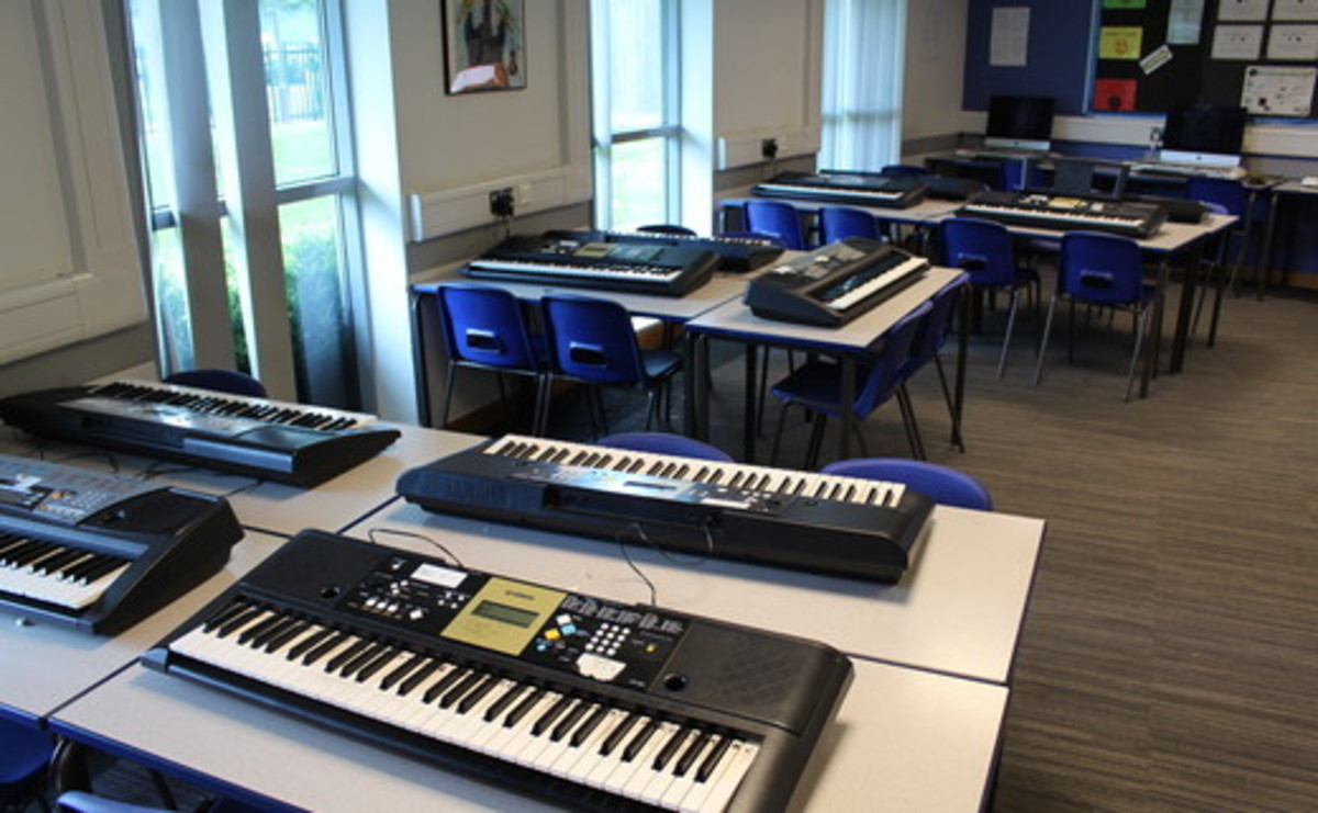 Specialist Classroom - Music Room - SLS @ Light Hall School - Solihull - 1 - SchoolHire