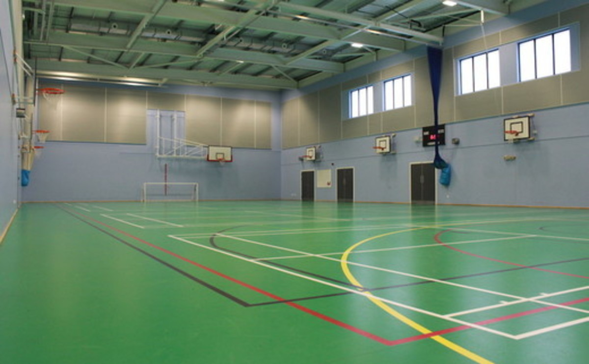 Sports Hall at SLS @ Oasis Academy Oldham for hire in Oldham - SLS