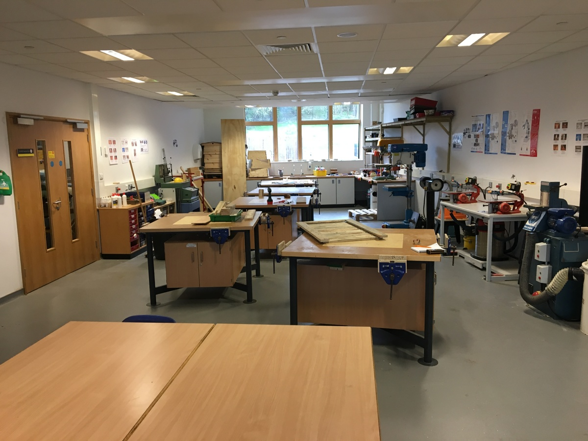 DT Room - Midhurst Rother College - West Sussex - 3 - SchoolHire