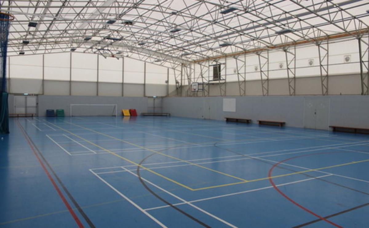Sports Hall  - SLS @ Our Ladys Catholic College - Lancashire - 1 - SchoolHire