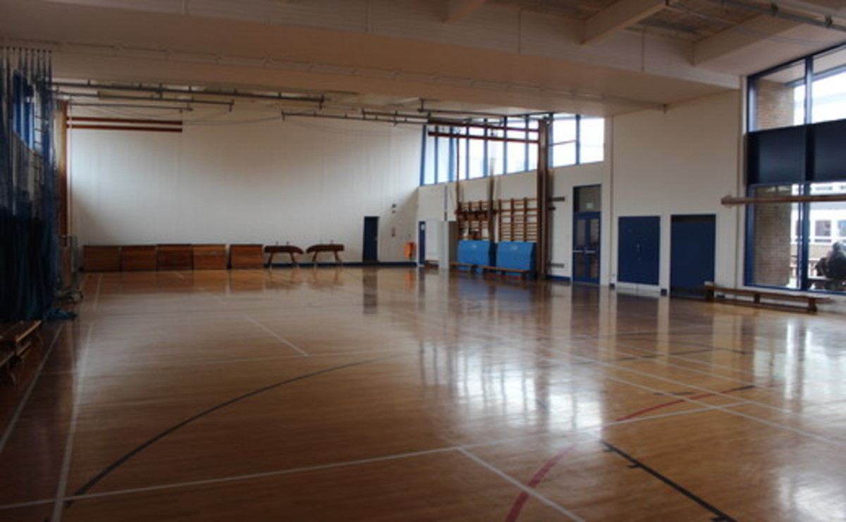 Gymnasium - SLS @ Our Ladys Catholic College - Lancashire - 1 - SchoolHire