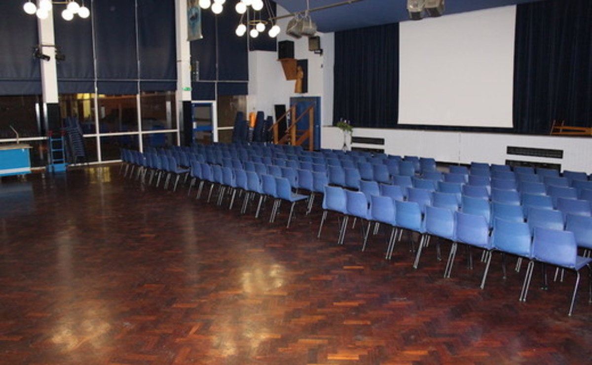 Main Hall  - SLS @ Our Ladys Catholic College - Lancashire - 1 - SchoolHire
