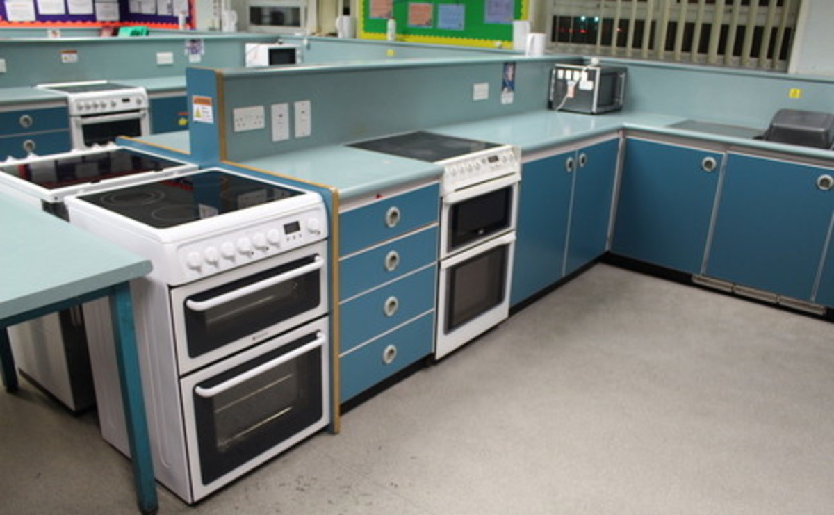 Cooking Room - SLS @ Our Ladys Catholic College - Lancashire - 1 - SchoolHire