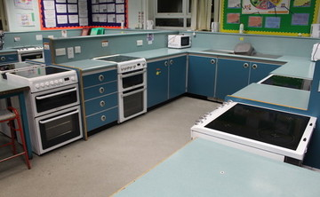 Cooking Room - SLS @ Our Ladys Catholic College - Lancashire - 2 - SchoolHire