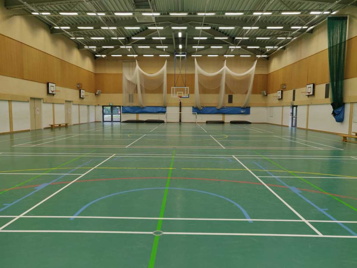 Sports Hall  - SLS @ Princes Risborough School - Buckinghamshire - 1 - SchoolHire