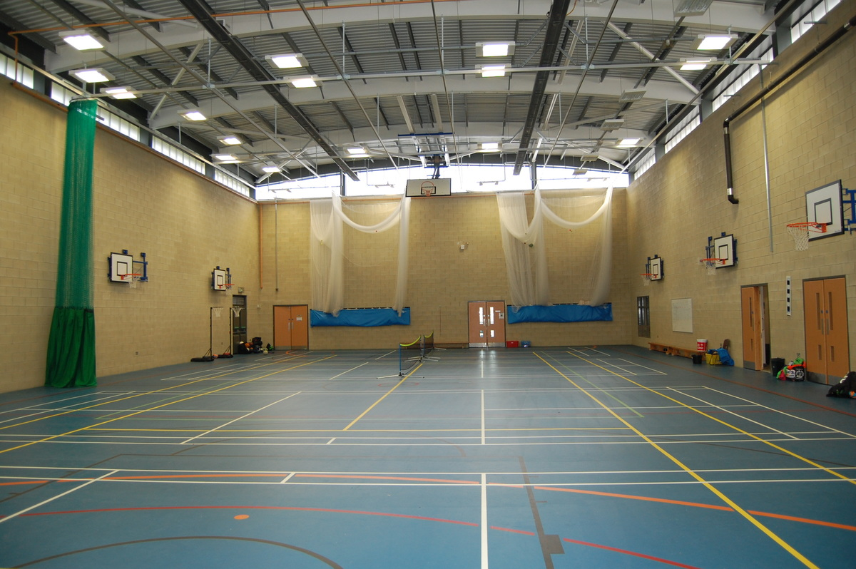 Blue Sports Hall - AKS Lytham Independent School - Flyde - 1 - SchoolHire