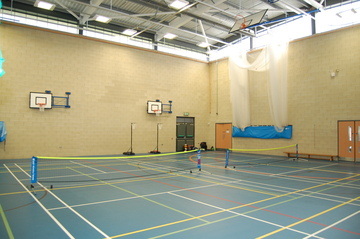 Blue Sports Hall - AKS Lytham Independent School - Flyde - 2 - SchoolHire