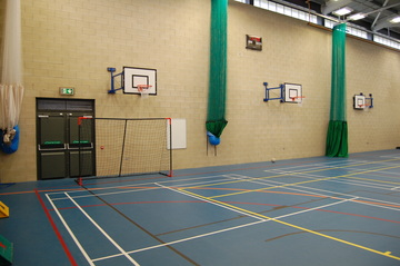 Blue Sports Hall - AKS Lytham Independent School - Flyde - 3 - SchoolHire