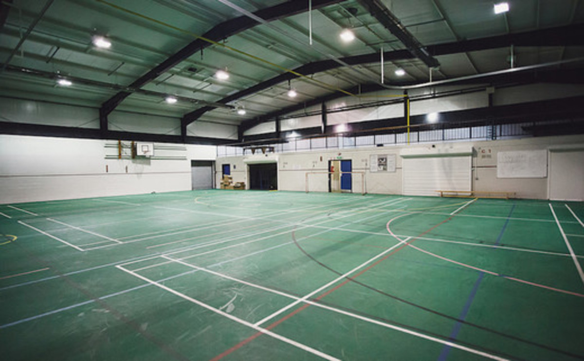 Sports Hall  - SLS @ Sale High School - Lancashire - 1 - SchoolHire