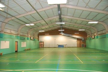 Green Sports Hall - AKS Lytham Independent School - Flyde - 1 - SchoolHire