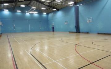 Sports Hall  - SLS @ St Albans Girls School - Hertfordshire - 1 - SchoolHire