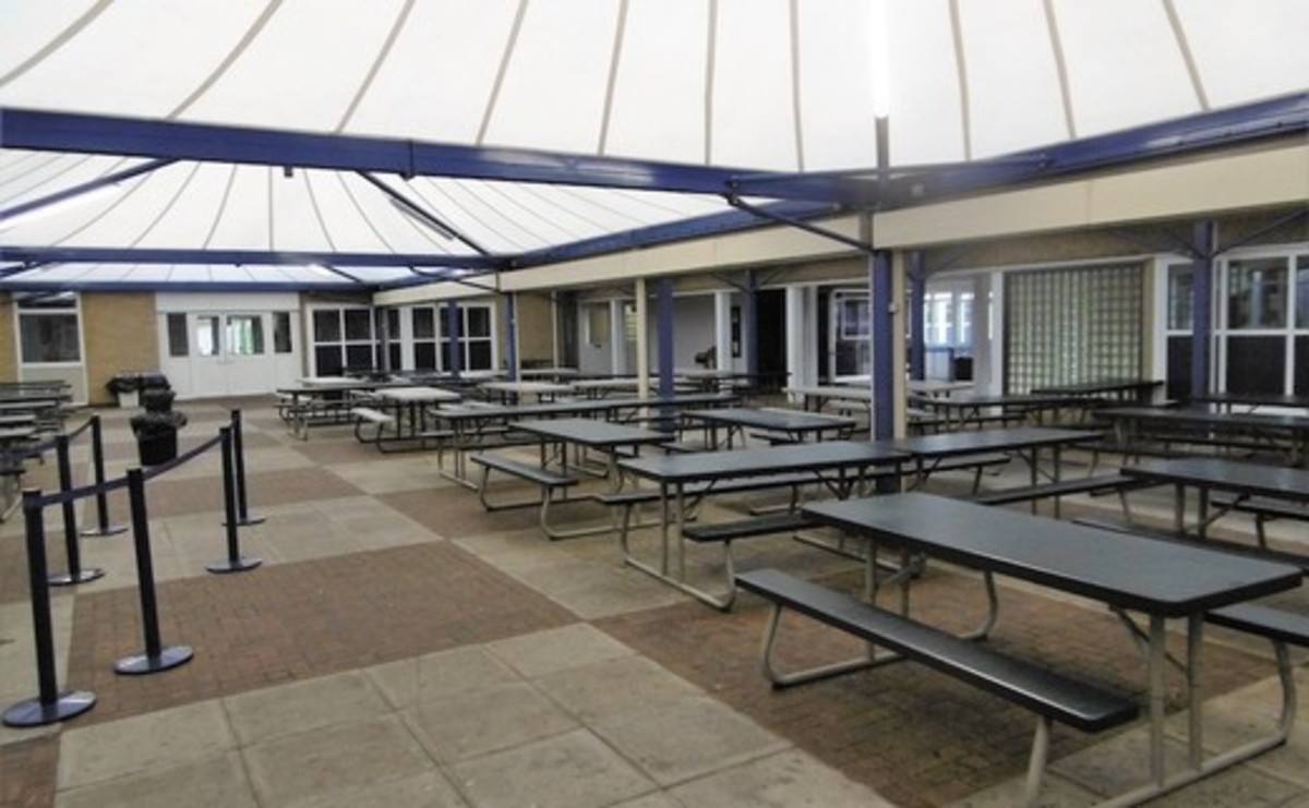 Tarmac Area - Outside Canopy Area - SLS @ St Albans Girls School - Hertfordshire - 1 - SchoolHire