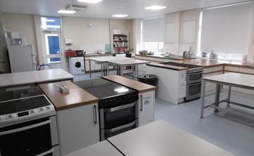 Specialist Classroom - Cookery Room - SLS @ St Albans Girls School - Hertfordshire - 1 - SchoolHire