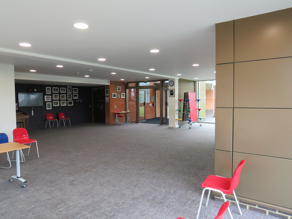 Foyer - Chigwell School - Essex - 3 - SchoolHire