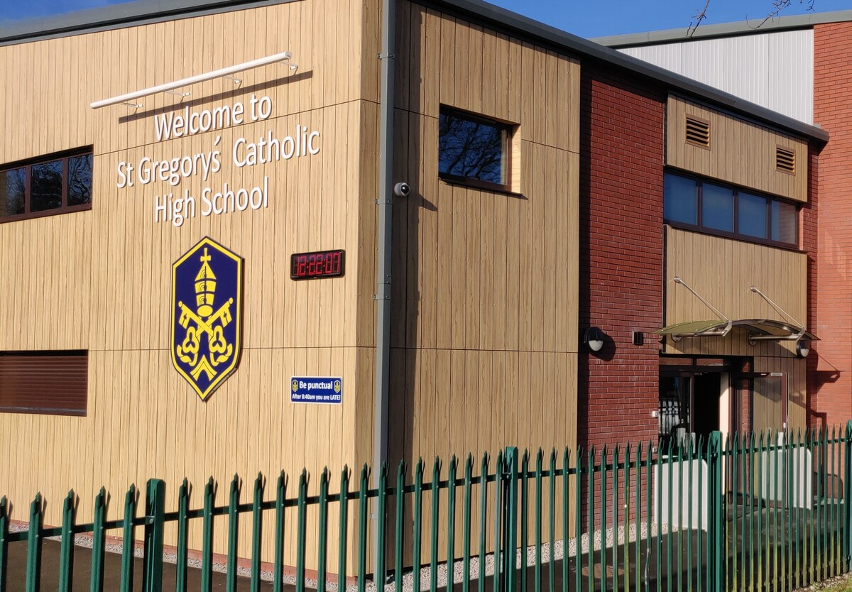 SLS @ St Gregorys Catholic High School - Cheshire West and Chester - 2 - SchoolHire