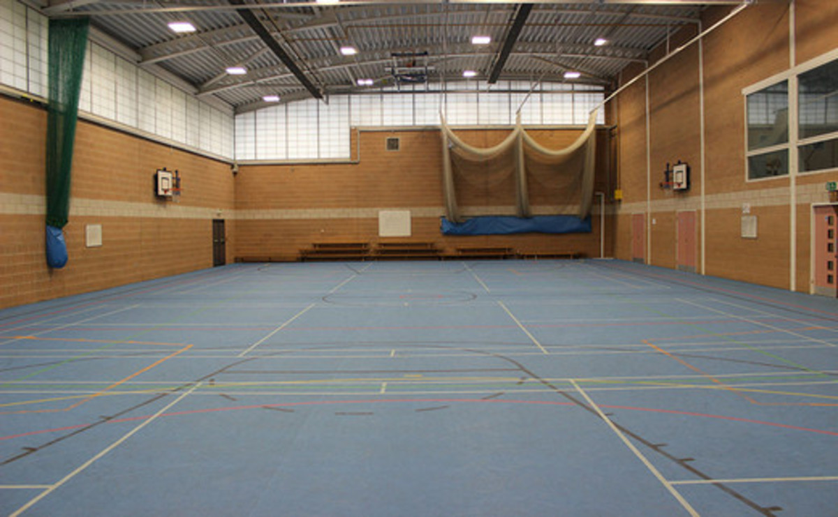 Sports Hall  - SLS @ St Christophers CE High School - Lancashire - 1 - SchoolHire