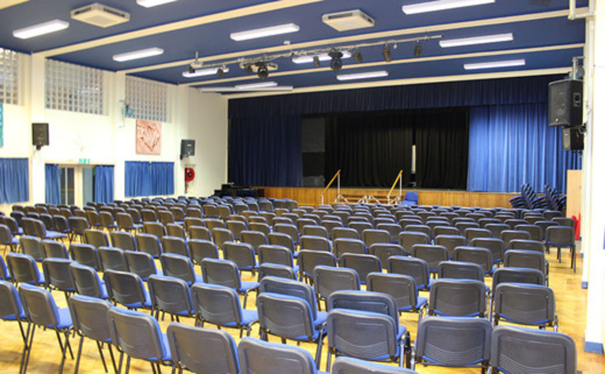 Main Hall  - SLS @ St Christophers CE High School - Lancashire - 1 - SchoolHire