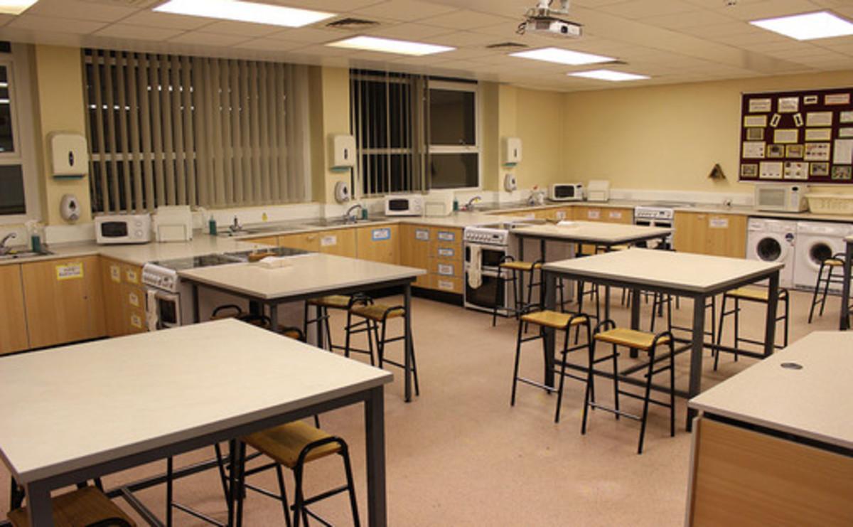 Cookery Room - SLS @ St Christophers CE High School - Lancashire - 1 - SchoolHire