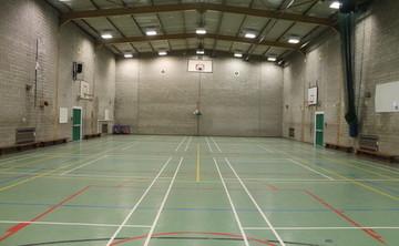 Sports Hall  - SLS @ St Edmund Arrowsmith Catholic High School - Lancashire - 1 - SchoolHire
