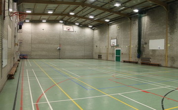 Sports Hall  - SLS @ St Edmund Arrowsmith Catholic High School - Lancashire - 2 - SchoolHire
