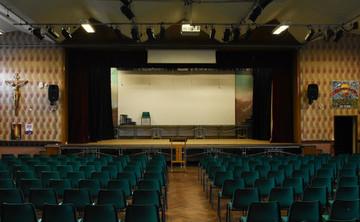 Main Hall  - SLS @ St Edmund Arrowsmith Catholic High School - Lancashire - 1 - SchoolHire