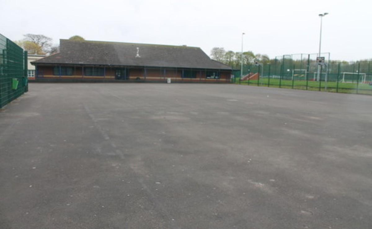 Tarmac Area  - SLS @ St Edmund Arrowsmith Catholic High School - Lancashire - 1 - SchoolHire
