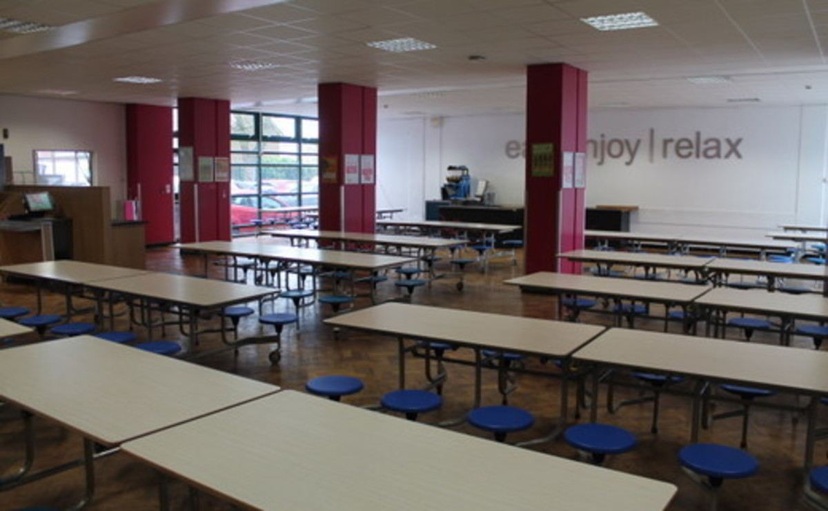 Dining Area  - SLS @ St Edmund Arrowsmith Catholic High School - Lancashire - 1 - SchoolHire