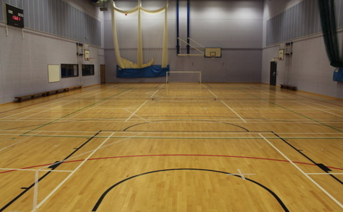 Sports Hall  - SLS @ St Marys Catholic Academy (Blackpool) - Lancashire - 1 - SchoolHire